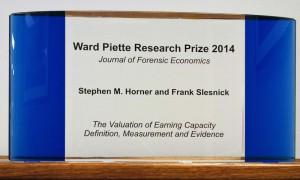 Ward Piette Research Prize 2014
